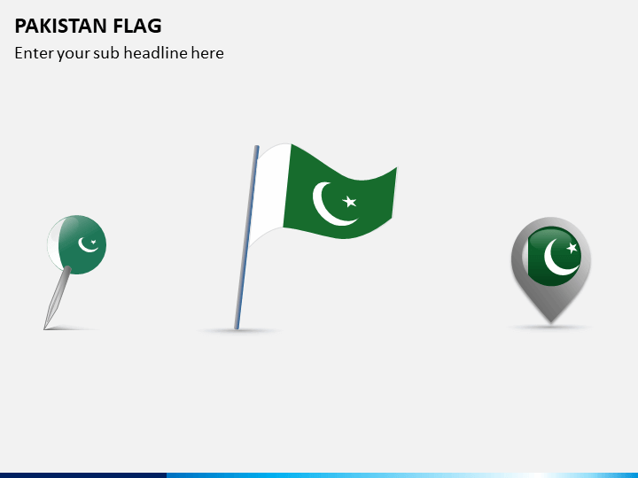 Pakistan Flag PPT Slide 1