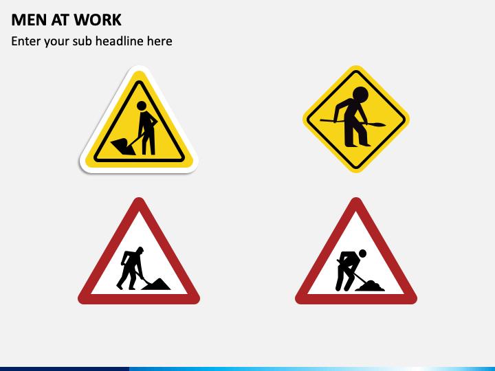 Men at Work PPT Slide