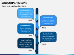 Sequential Timeline PPT Slide 2