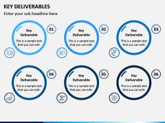 Key Deliverables PPT Slide 6