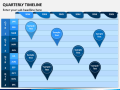 Quarterly Timeline PPT Slide 2