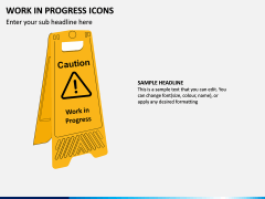 Work in Progress (WIP) Icons PPT Slide 8