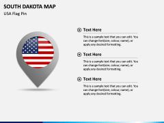 South Dakota Map PPT Slide 5