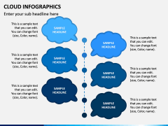 Cloud Infographics PPT Slide 8
