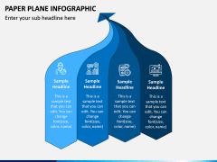 Paper Plane Infographic PPT Slide 5