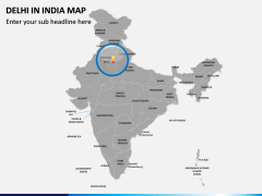 Delhi Map PPT Slide 4