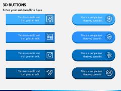 3d Buttons PPT Slide 6