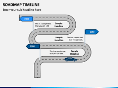 Roadmap Timeline PPT Slide 7