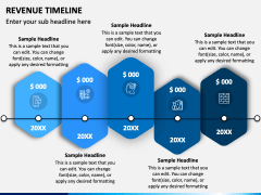 Revenue Timeline PPT Slide 3