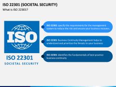 ISO 22301 PPT Slide 1