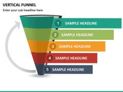 Vertical Funnel PPT Slide 24