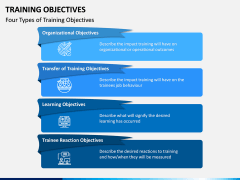Training Objectives PPT Slide 3