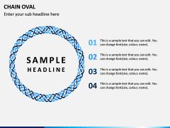 Chain Oval PPT Slide 8