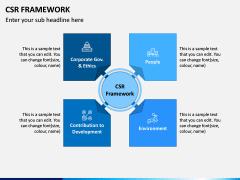 CSR Framework PPT Slide 1