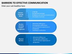 Barriers to Effective Communication PPT Slide 5