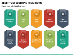 Benefits of Working From Home PPT Slide 4
