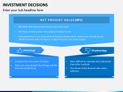 Investment Decisions PPT Slide 9