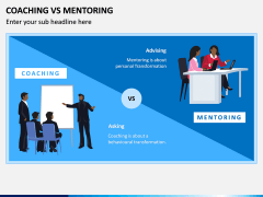 Coaching Vs Mentoring PPT Slide 1