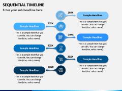 Sequential Timeline PPT Slide 6