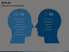 EQ vs IQ Animated Presentation - SketchBubble
