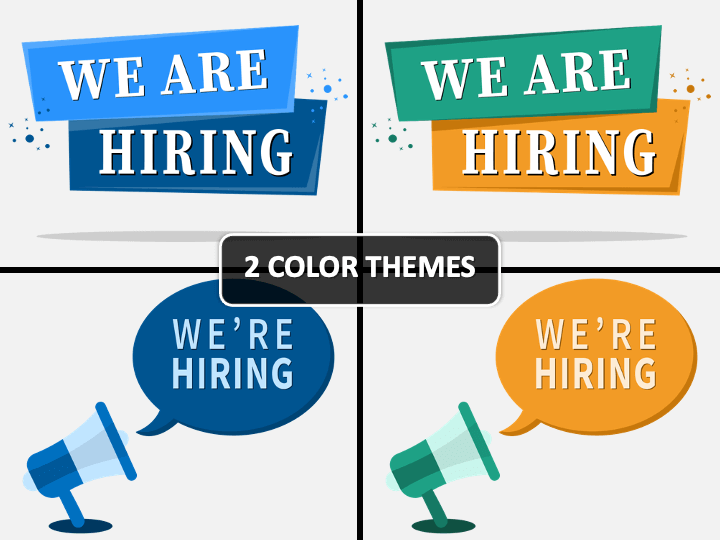 We Are Hiring PPT Cover Slide