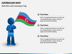 Azerbaijan Map PPT Slide 4