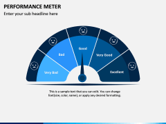 Performance Meter PPT Slide 1