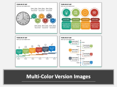 Timeline By Day PPT Multicolor Combined