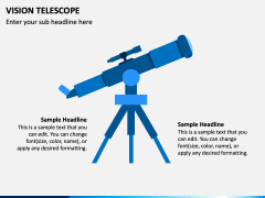 Vision Telescope PPT Slide 1