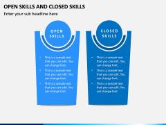 Open Skills and Closed Skills PPT Slide 2