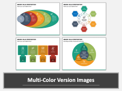 Brand Value Proposition PPT Multicolor Combined