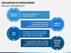 Evaluation of Recruitment PPT Slide 3