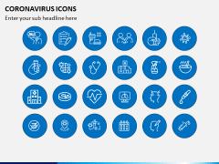 Coronavirus Icons PPT Slide 4