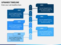 Upward Timeline PPT Slide 5