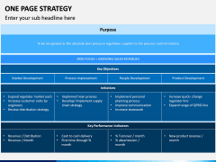 One Page Strategy PPT Slide 4