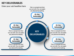 Key Deliverables PPT Slide 5