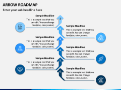 Arrow Roadmap PPT Slide 5