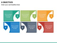 6 Objectives PPT Slide 2