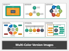 Stakeholder Model PPT Multicolor Combined