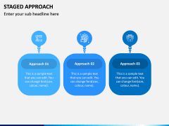 Staged Approach PPT Slide 1