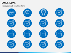 Email Icons PPT Slide 4