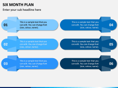 Six Month Plan PPT Slide 8