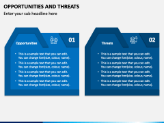 Opportunities and Threats PPT Slide 1