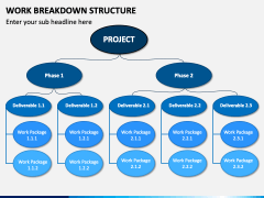 Work Breakdown Structure PPT Slide 1