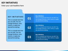 Key Initiatives PPT Slide 1