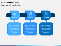 Course of Action PPT Slide 4
