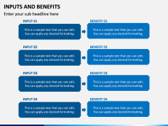 Inputs and Benefits PPT Slide 5
