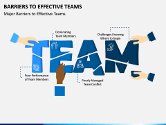Barriers to Effective Teams PPT Slide 1
