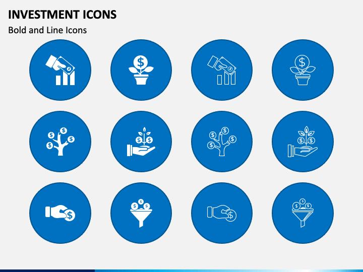Investment Icons Slide