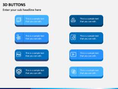 3d Buttons PPT Slide 4